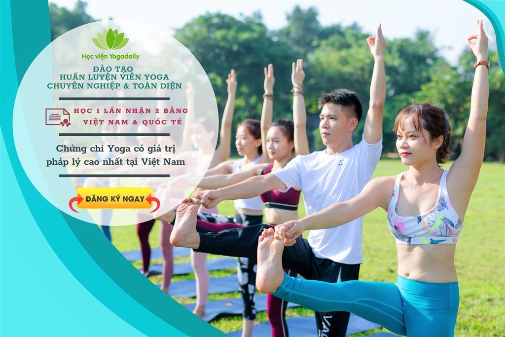 Khóa học Huấn luyện viên Yoga (học trực tiếp tại Yogadaily)